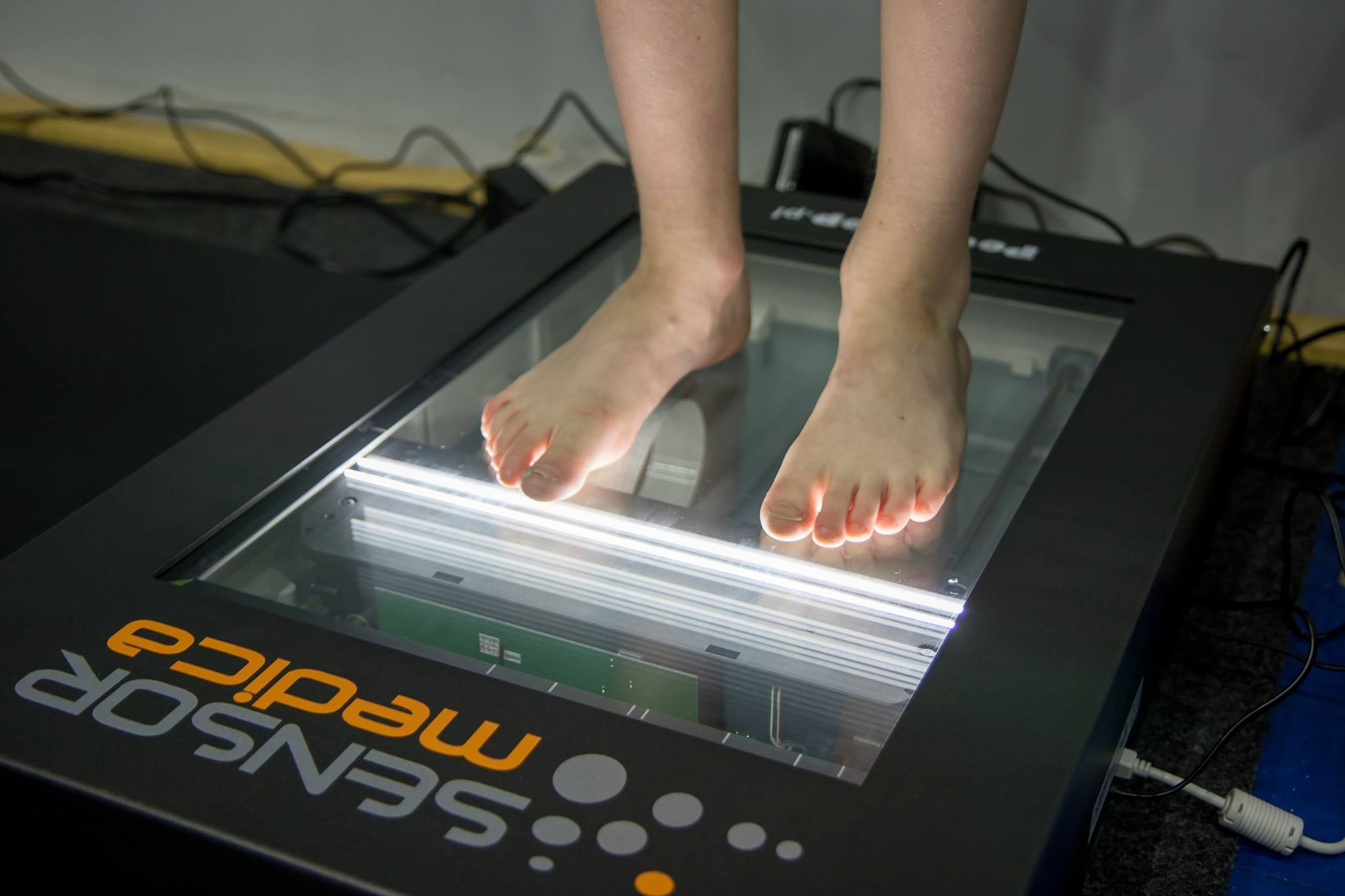 Podoscan 2D - komputerowy podoskop