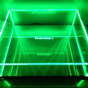 Podoskop podświetlany LED