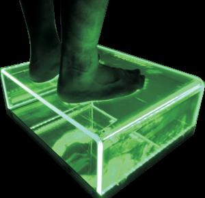 Urządzenie do badania stóp - podoskop