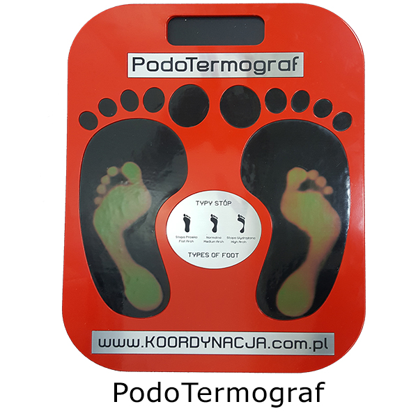 Podotermograf do diagnostyki stóp